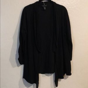 Spense women's black shawl/cover size XL